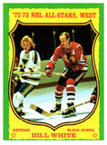 1973 Topps Bill White All Stars West Chicago Blackhawks - JM Collectibles