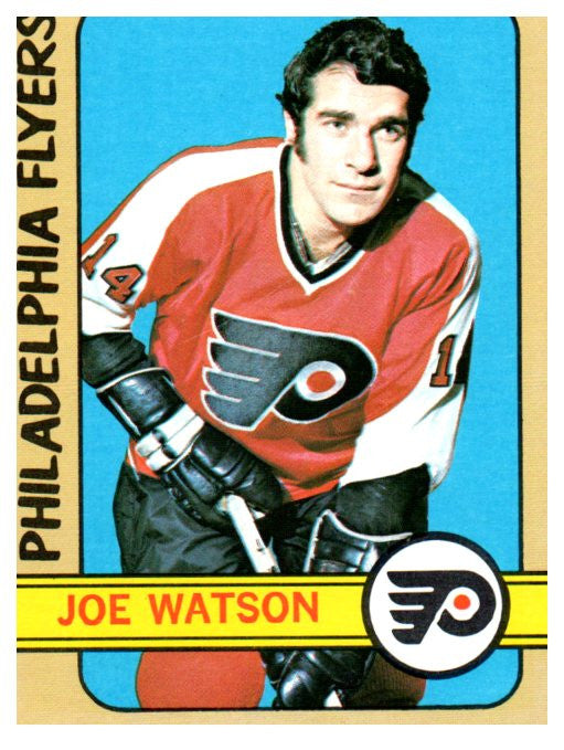 1972 Topps Joe Watson Philadelphia Flyers - JM Collectibles