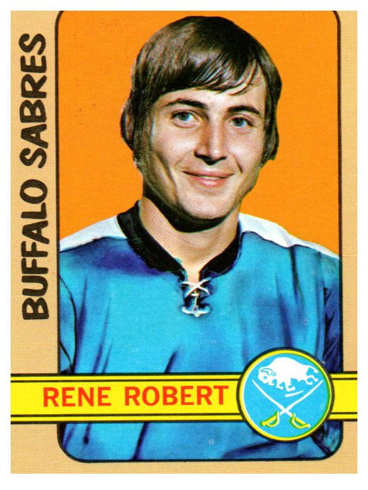 1972 Topps Rene Robert Buffalo Sabres - JM Collectibles