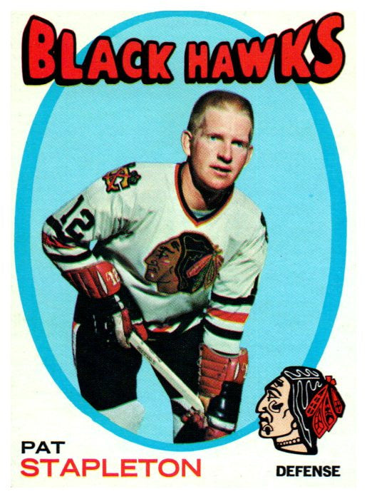 1971 Topps Pat Stapleton Chicago Blackhawks - JM Collectibles