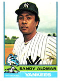 1976 Topps Sandy Alomar New York Yankees - JM Collectibles