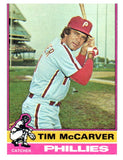 1976 Topps Tim McCarver Philadelphia Phillies - JM Collectibles