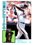 1984 Topps Darryl Strawberry Rookie Card New York Mets - JM Collectibles