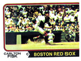 1974 Topps Carlton Fisk Boston Red Sox - JM Collectibles
