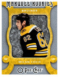 2007-08 O-Pee-Chee Milan Lucic Marquee Rookie Card Boston Bruins - JM Collectibles