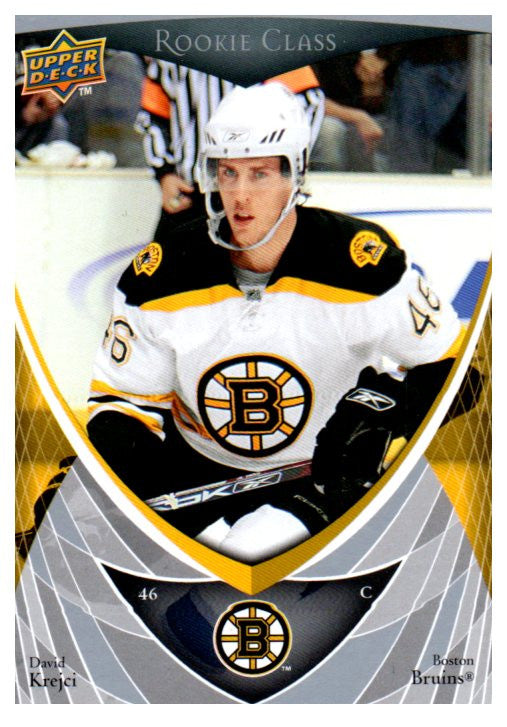 2007-08 Upper Deck David Krejci Rookie Class Boston Bruins - JM Collectibles