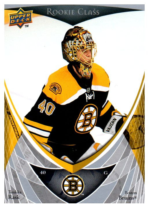 2007-08 Upper Deck Tuukka Rask Rookie Class Boston Bruins - JM Collectibles