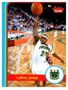 2012-13 Fleer Retro LeBron James Cleveland Cavaliers - JM Collectibles