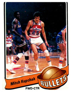 1979-80 Topps Mitch Kupchak Washington Bullets - JM Collectibles