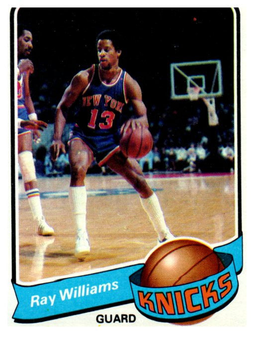 1979-80 Topps Ray Williams New York Knicks - JM Collectibles