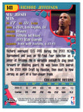 2001-02 Topps Chrome Richard Jefferson Rookie Card New Jersey Nets - JM Collectibles