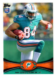 2012 Topps Michael Egnew Rookie Card Miami Dolphins - JM Collectibles
