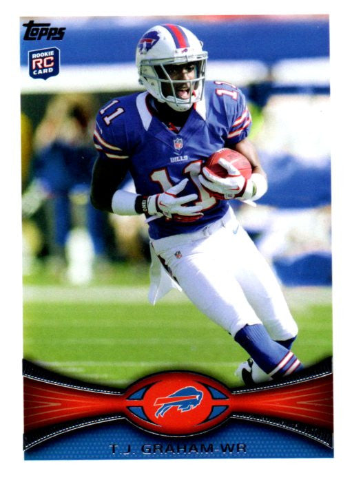 2012 Topps T.J. Graham Rookie Card Buffalo Bills - JM Collectibles