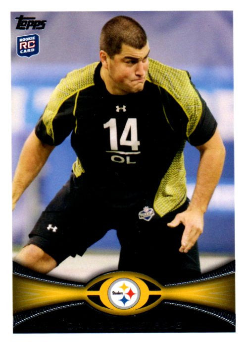 2012 Topps David DeCastro Rookie Card Pittsburgh Steelers - JM Collectibles