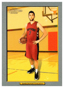 2006-07 Topps Turkey Red Andrea Bargnani Rookie Card Toronto Raptors - JM Collectibles