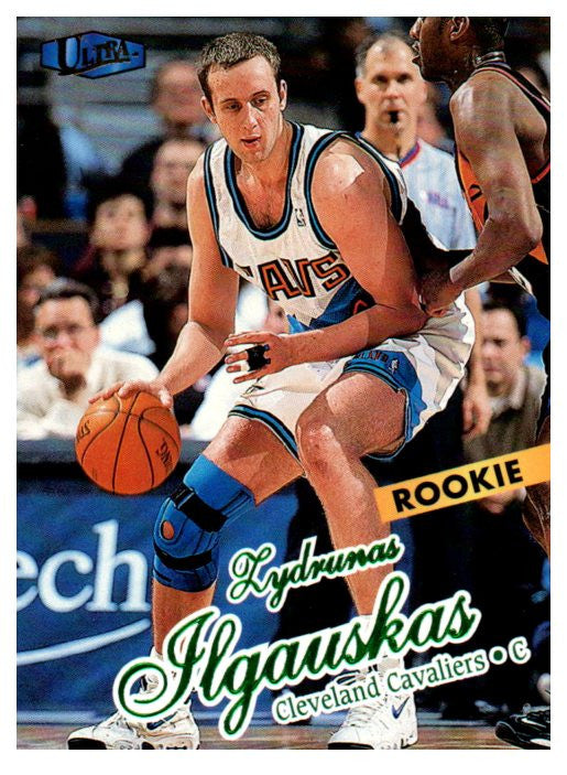 1997-98 Fleer Ultra Zydrunas Ilgauskas Rookie Card Cleveland Cavaliers - JM Collectibles