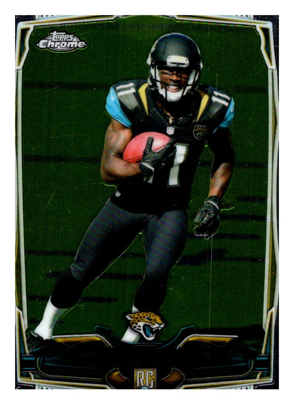 2014 Topps Chrome Mini Marqise Lee Rookie Jacksonville Jaguars - JM Collectibles