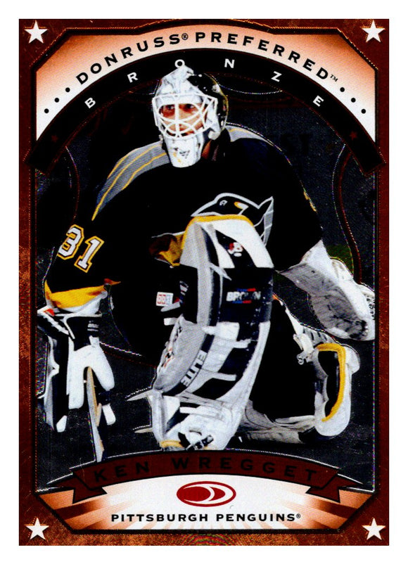 1997-98 Donruss Preferred Bronze Ken Wregget Pittsburgh Penguins - JM Collectibles
