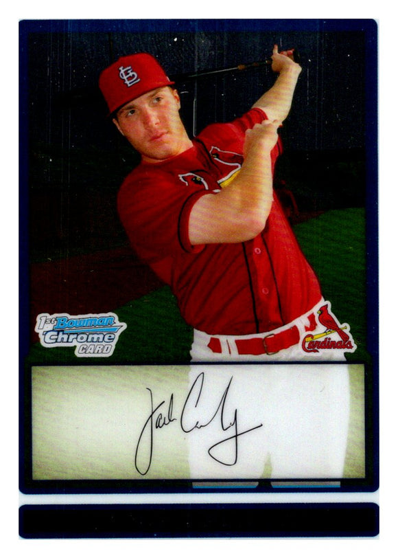 2009 Bowman Chrome Prospect Jack Cawley St Louis Cardinals