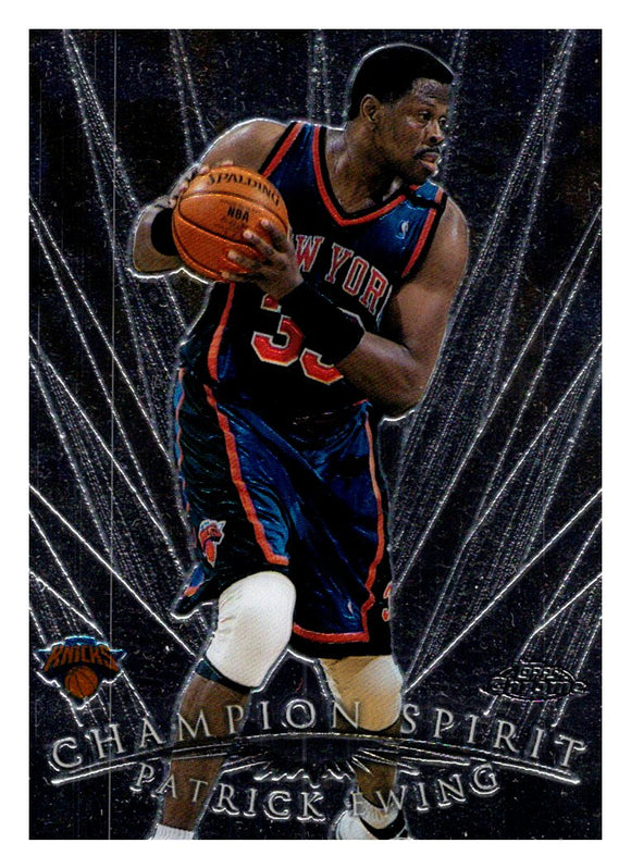 1999 Topps Chrome Patrick Ewing Champion Spirit New York Knicks - JM Collectibles
