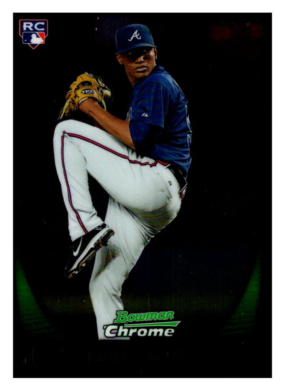 2011 Bowman Chrome Julio Teheran Rookie Card Atlanta Braves