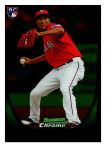 2011 Bowman Chrome Alexi Ogando Rookie Card Texas Rangers