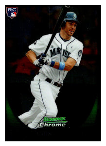 2011 Bowman Chrome Dustin Ackley Rookie Card Seattle Mariners