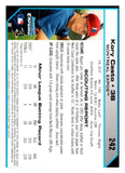 2004 Bowman Chrome Kory Casto First Year Card Montreal Expos