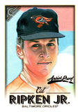 2018 Topps Gallery Artists Proof Cal Ripken Jr Baltimore Orioles