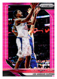 2018-19 Panini Prizm Prizms Pink Pulsar /42 Lou Williams Los Angeles Clippers