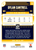 2018 Donruss Optic Holo Dylan Cantrell Rookie Card Los Angeles Chargers