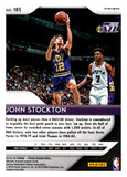 2018-19 Panini Prizm Prizms Purple Wave John Stockton Utah Jazz