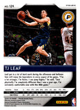 2018-19 Panini Prizm Prizms Pink Ice TJ Leaf Indiana Pacers
