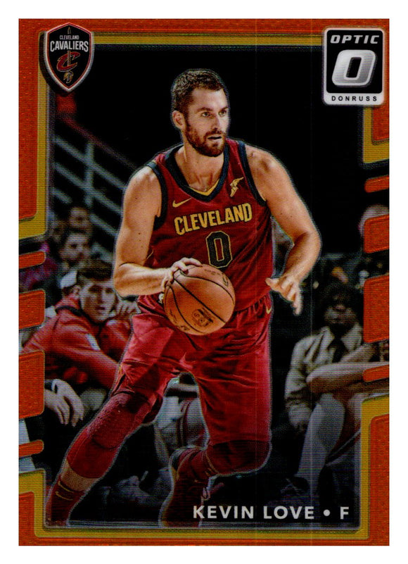 2017-18 Donruss Optic Orange /199 Kevin Love Cleveland Cavaliers