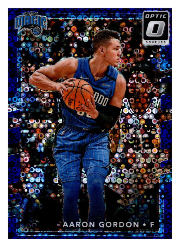 2017-18 Donruss Optic Fast Break Purple /155 Aaron Gordon Orlando Magic