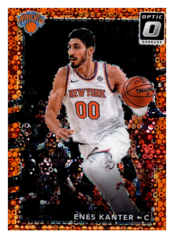 2017-18 Donruss Optic Fast Break Orange /193 Enes Kanter New York Knicks
