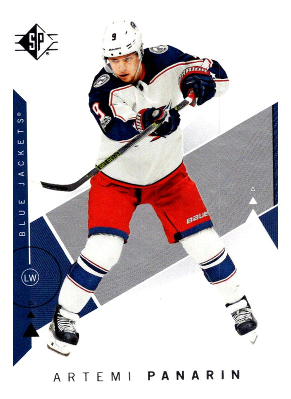 2018-19 SP Artemi Panarin Columbus Blue Jackets