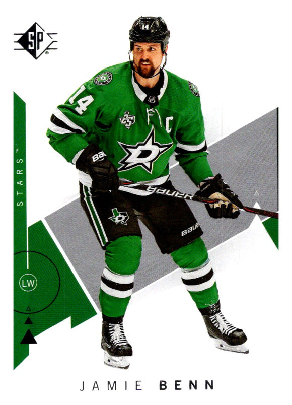 2018-19 SP Jamie Benn Dallas Stars