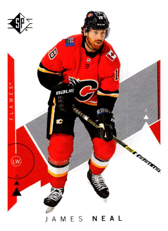 2018-19 SP James Neal Calgary Flames