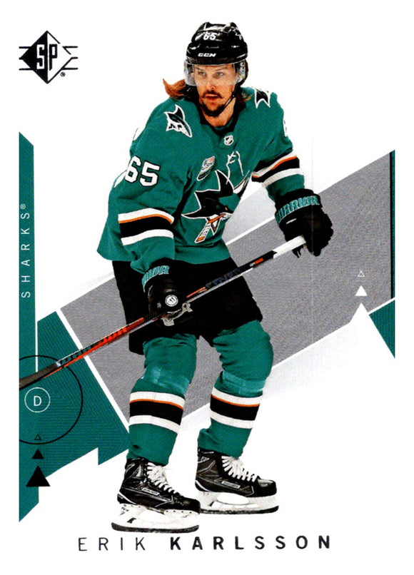 2018-19 SP Erik Karlsson San Jose Sharks