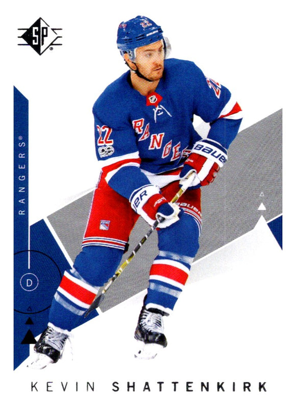 2018-19 SP Kevin Shattenkirk New York Rangers