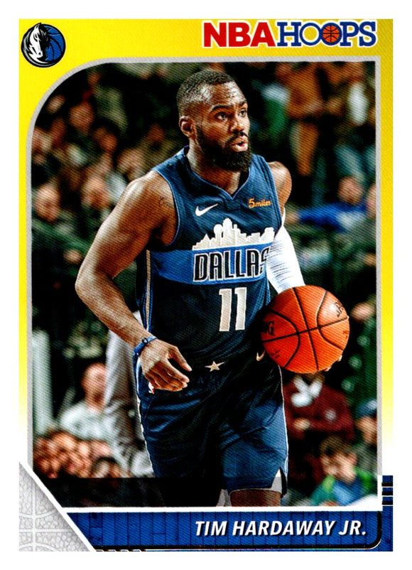 2019-20 Panini Hoops Tim Hardaway Jr Yellow Dallas Mavericks