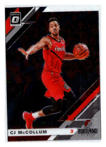 2019-20 Optic CJ C.J. McCollum Portland Trail Blazers