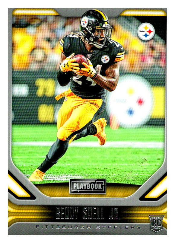 2019 Panini Playbook Benny Snell Jr Rookie Card Pittsburgh Steelers