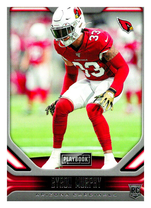 2019 Panini Playbook Byron Murphy Rookie Card Arizona Cardinals