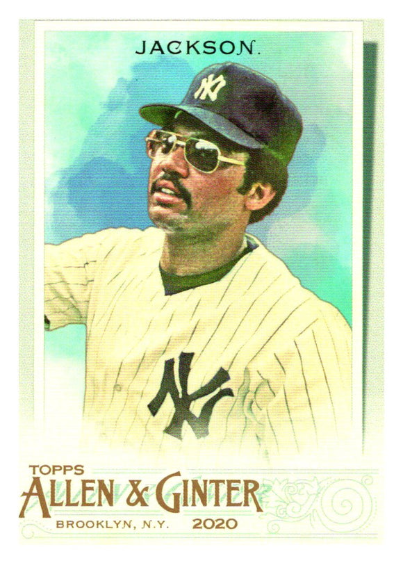 2020 Topps Allen and Ginter Reggie Jackson New York Yankees