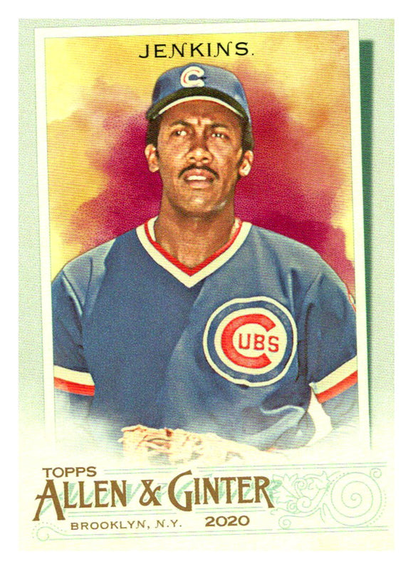 2020 Topps Allen and Ginter Short Print Fergie Jenkins Chicago Cubs