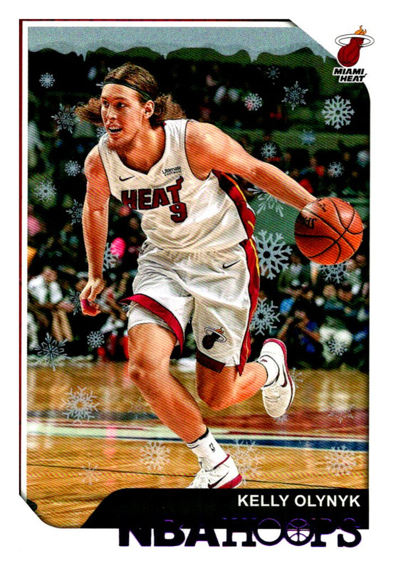 2018-19 Hoops Purple Winter Kelly Olynyk Miami Heat