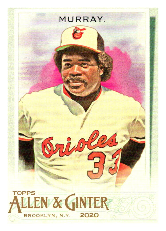 2020 Topps Allen and Ginter Eddie Murray Baltimore Orioles