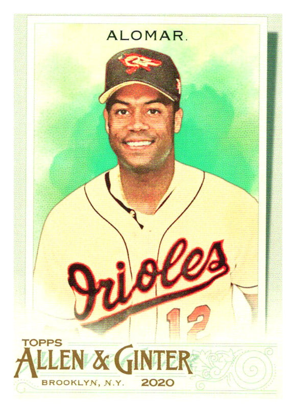2020 Topps Allen and Ginter Roberto Alomar Baltimore Orioles